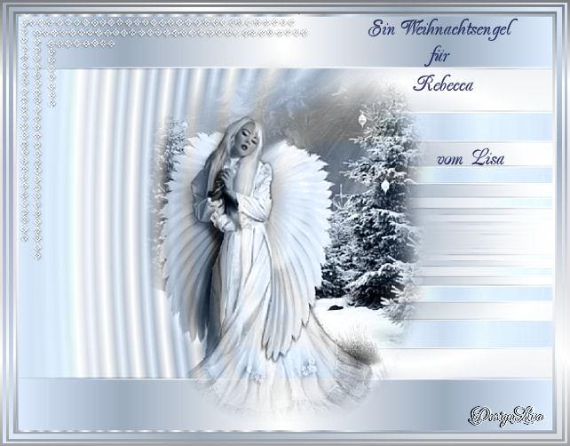 Ein wundersch ner engel von meiner lieben lisa
