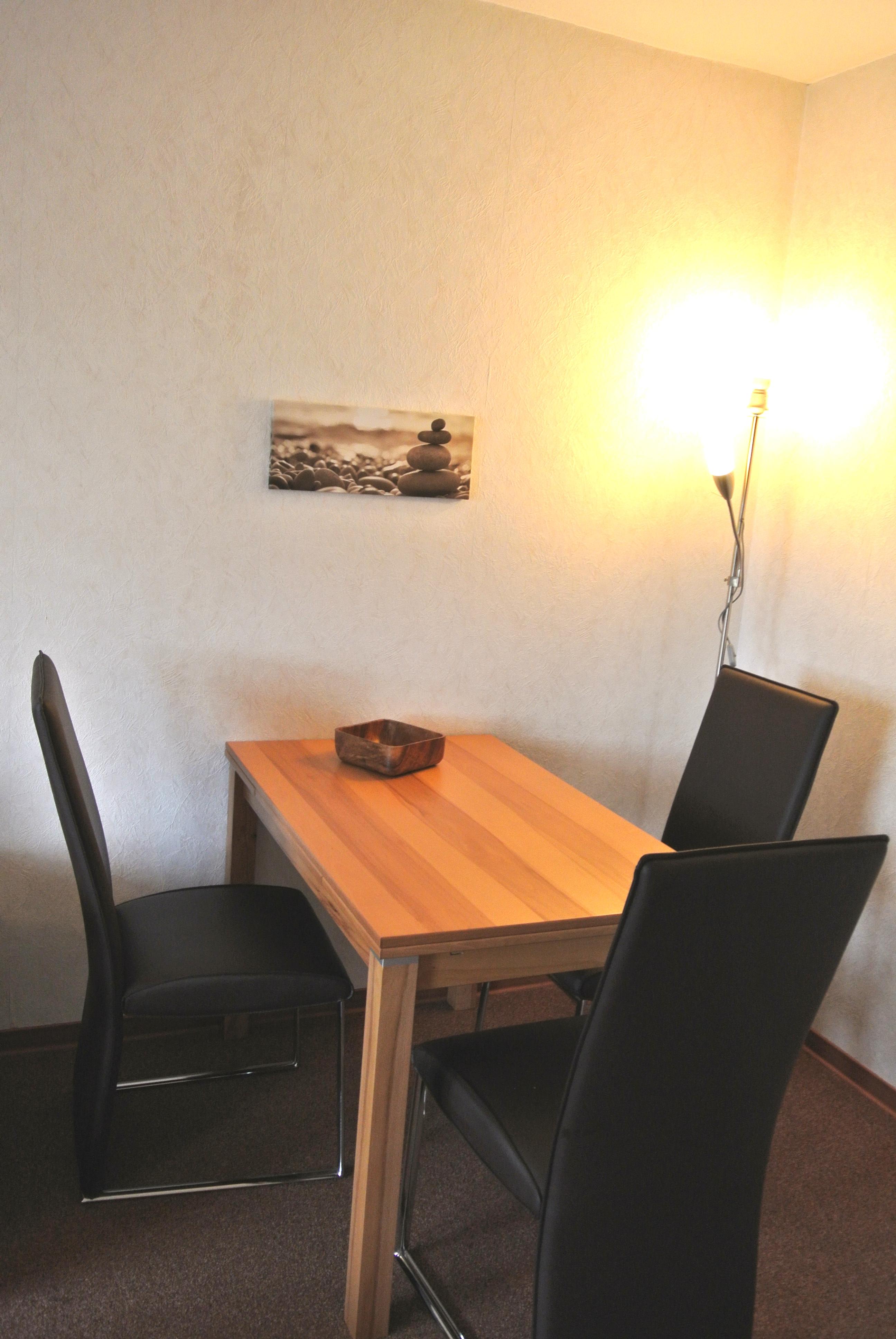 Wohnung 1 for Modern eingerichtete wohnzimmer