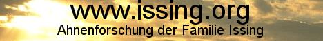 Ahnenforschung der Familien Issing, Derichsweiler, Grauß, Heithoff. Namensforschung Issing