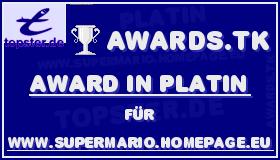 Platin Award von Awards.tk