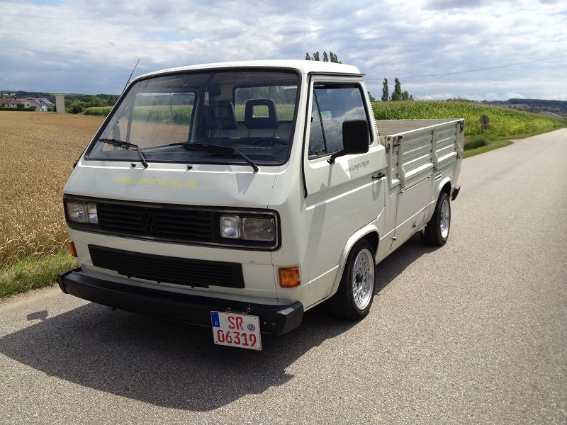 "VW T3 Pritsche ""The Transporter"""