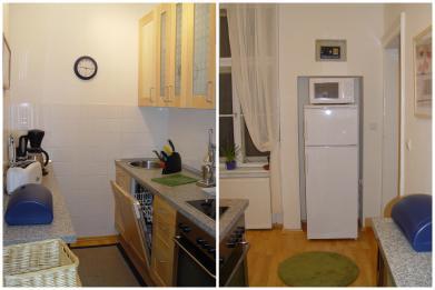 wien g nstige 4 zimmer ferienwohnung in wien s zentrum. Black Bedroom Furniture Sets. Home Design Ideas
